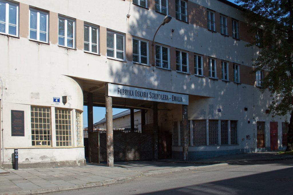Die Emaillefabrik von Oskar Schindler