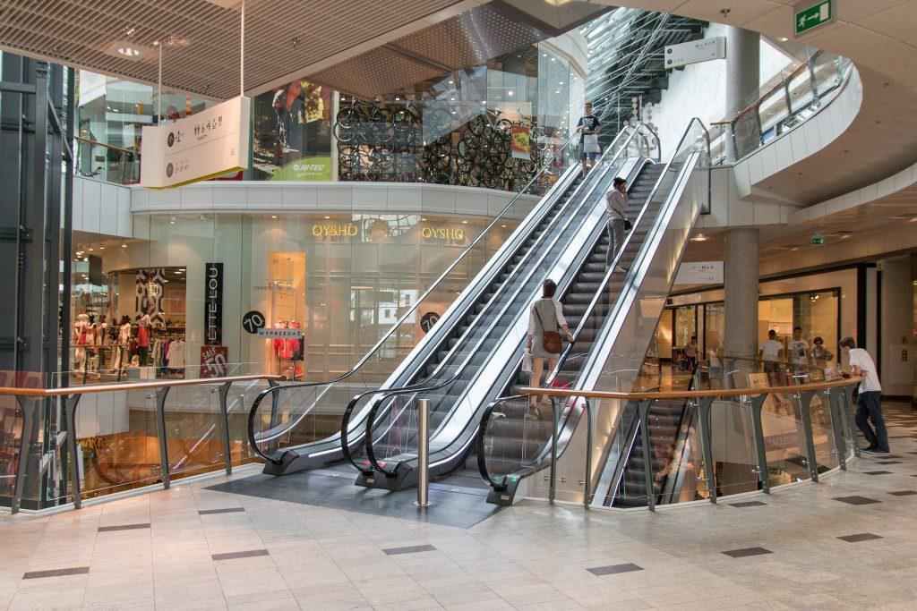 Die Einkaufszentren in Krakau