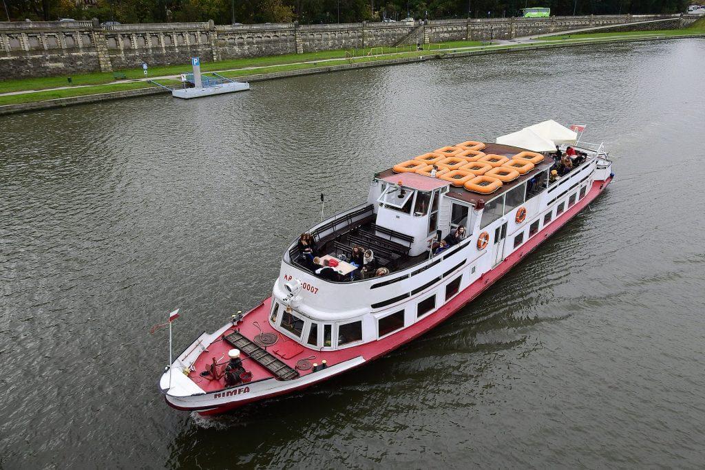 Eine Schiffsfahrt auf der Weichsel