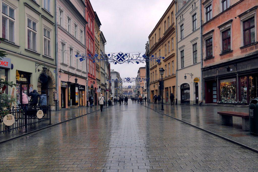 Ulica Grodzka (Grodzkastraße) in Krakau