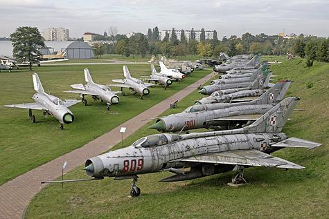 Das Polnische Luftfahrtmuseum