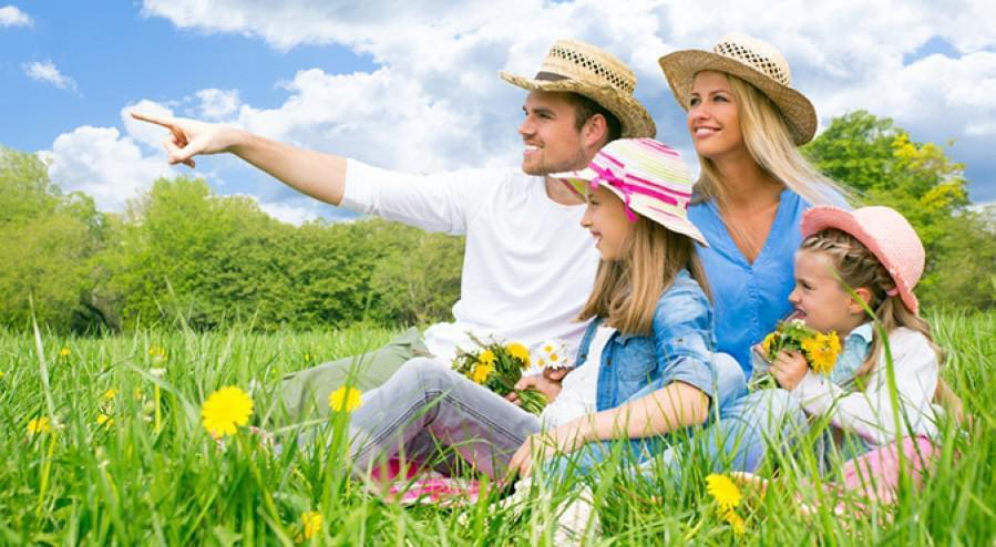 Sommerferien für die ganze Familie